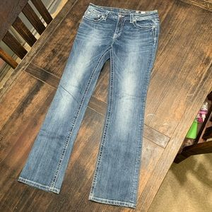 Miss Me Women's Jeans, Size 32, Mid-Rise Bootcut